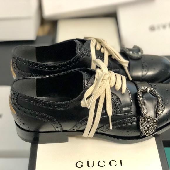 Gucci Mens Queercore Brogue Shoes